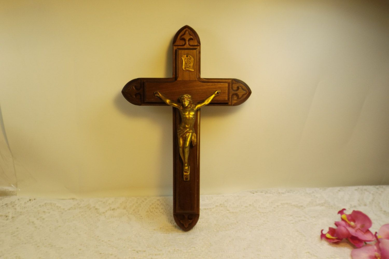 Antique Sick Call Crucifix, Last Rites Crucifix. Rare.Religion ...
