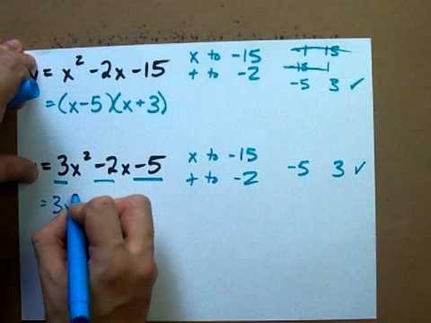 How to Factor any Quadratic Equation   Maths (Algebra) Secondary