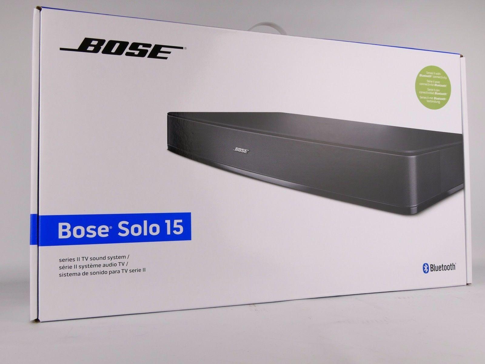 Bose Solo 15 Series Ii Tv Sound System Schwarz Neu Ovpsparen25com