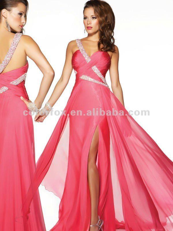 Hermosa Vestidos De Dama De Arrecifes De Coral Ideas Ornamento ...