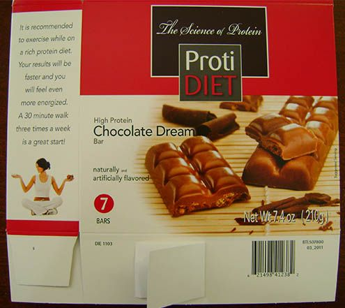 Protidiet High Protein Chocolate Dream Bars For Possible Salmonella Food Product Recalls From The Fsis Of The Usda Pinterest Dream Bars Chocolate Dreams