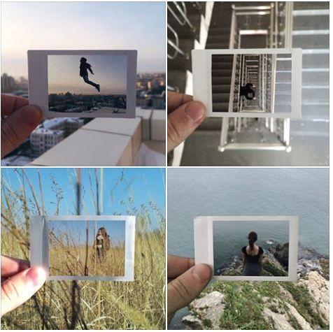 """Il progetto fotografico dell'instagrammer Maksim Zavialov (@mzavialov) #timethroughphoto si compone di """"scatti dentro scatti"""", il cui tema è la solitudine umana. Maksim parte da una Polaroid con cui fa il primo scatto, poi posiziona la fotografia nello stesso contesto in cui è stata realizzata e, con il suo iPhone, effettua il secondo scatto. Immagini realistiche e non, con effetti davvero sorprendenti.  #Viralgram"""