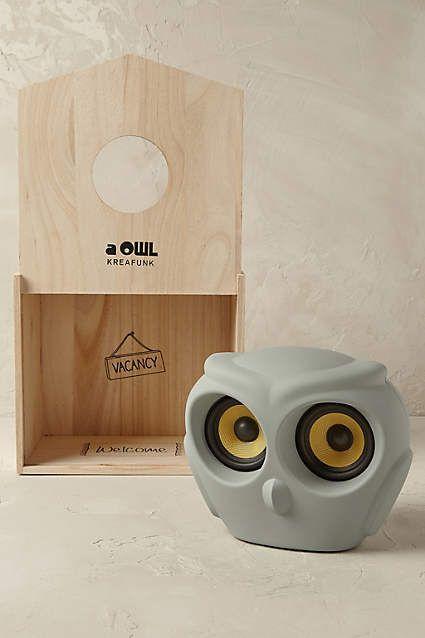 Portable Owl Radio - anthropologie.com