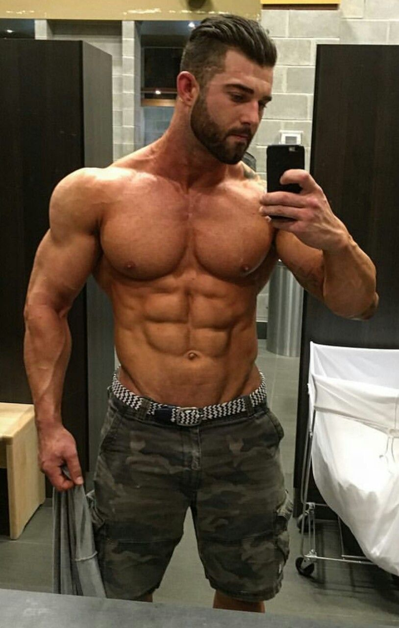 VERY MUSCULAR AND TOTALLY RIPPED