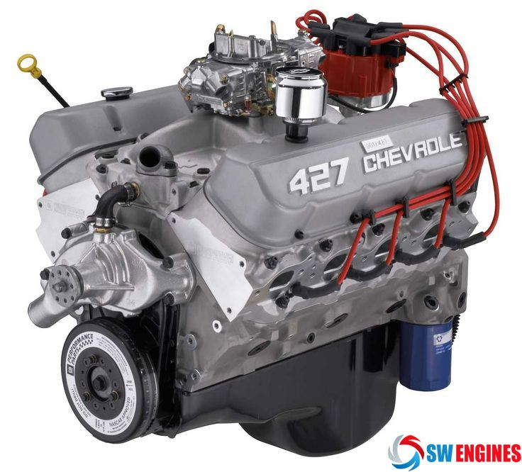 Chevy Anniversary Edition 427 #SWEngines | Chevy Engines | Pinterest ...