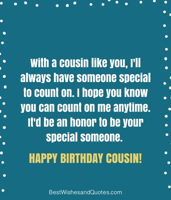 Happy Birthday Cousin - 35 Ways To Wish Your Cousin A -7661