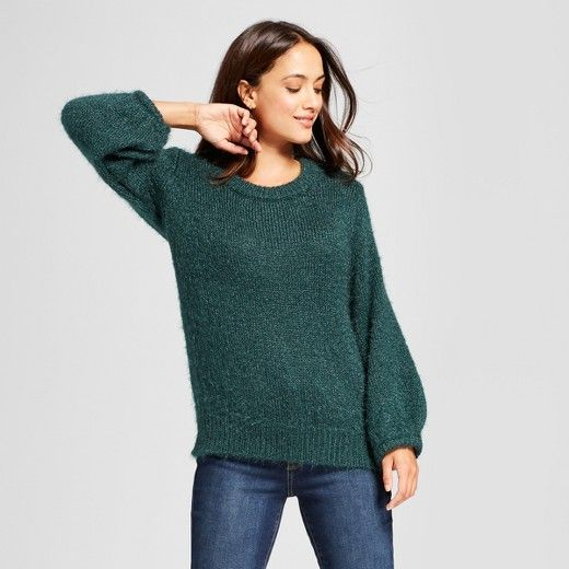 A New Day Women's Fuzzy Pullover Sweater | Pullover, Cold weather ...