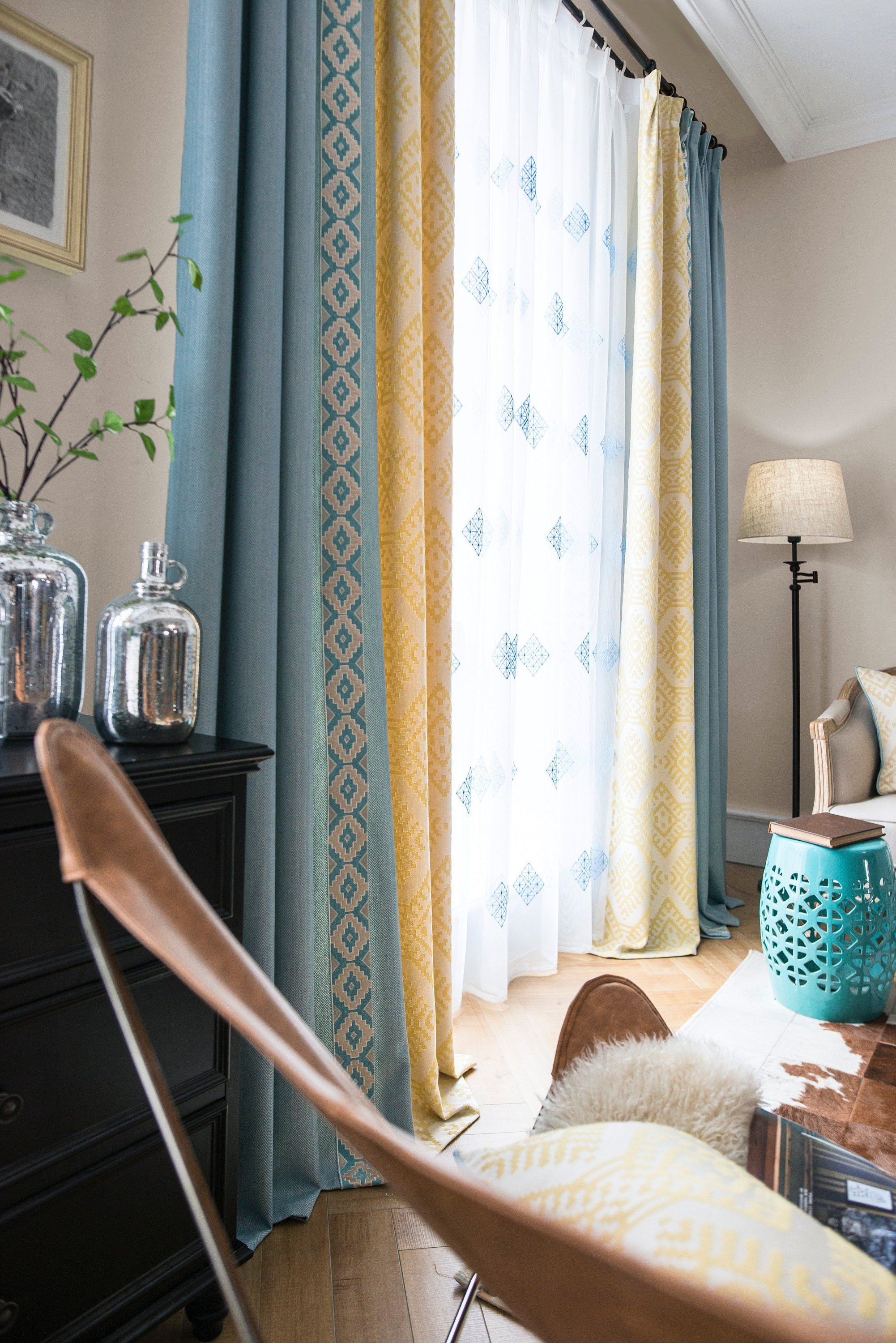 Curtain Diy For Living Area Curtains Draperies Homed