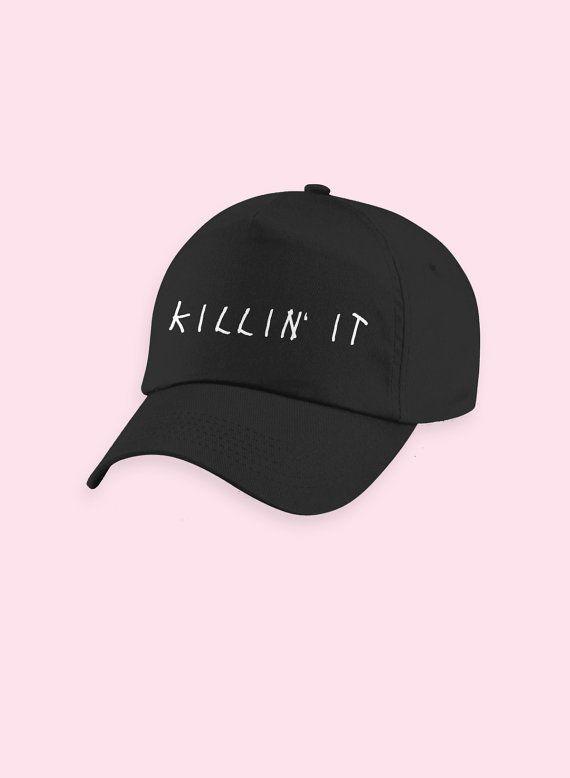 de6630c19f3 Killin  It Cap Hat Shirt Baseball Cap Cute Baseball by YELLMART ...