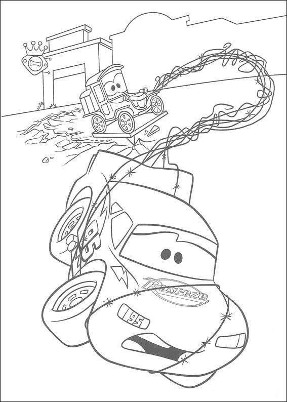 Dibujos para Colorear Cars 3 | patrones | Cars coloring pages ...