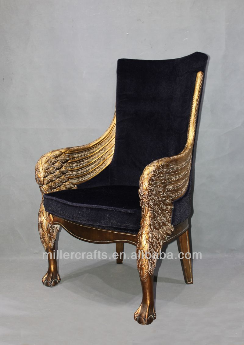 Antique gold king throne chair for home and hotel use Quality Choice - Antique Gold King Throne Chair For Home And Hotel Use Quality Choice