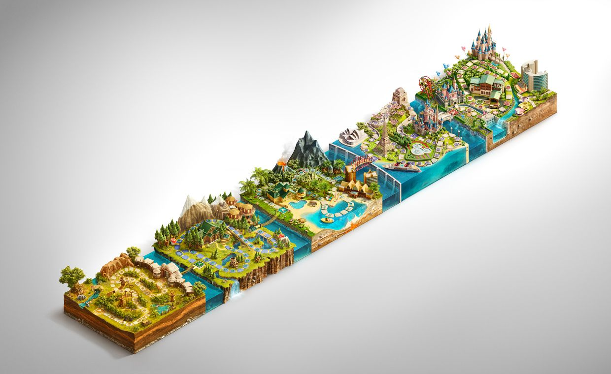 Ars Thanea are awesome  Disney Vacation Club Sweepstakes on Behance