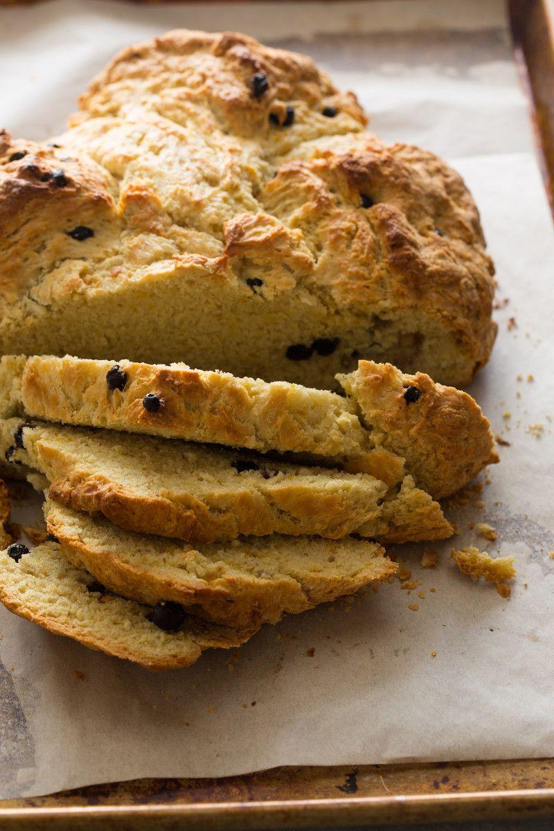 Irish Soda Bread with Dried Blueberries