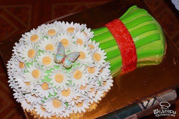 Потрясающие торты-букеты  / X-Style