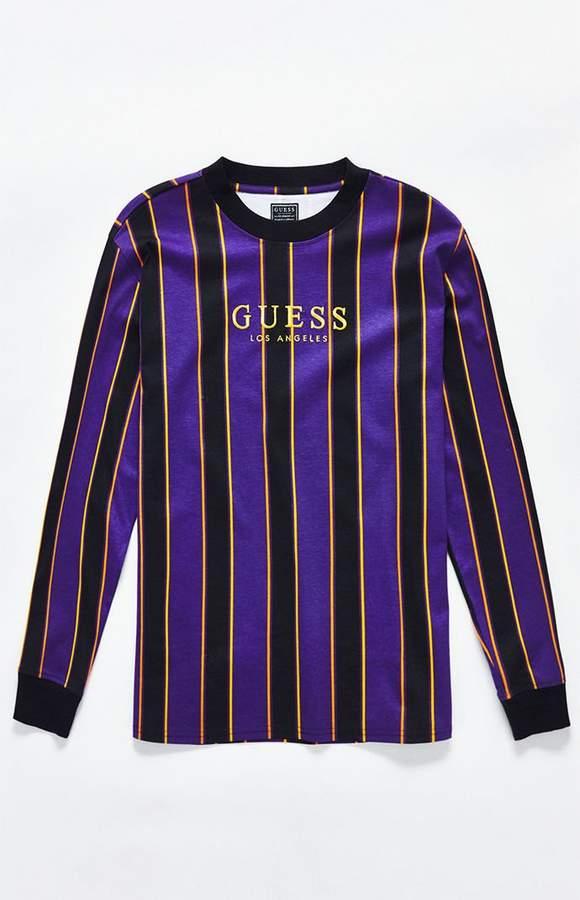 Guess St. James Stripe Long Sleeve T-Shirt  3ff56a97c