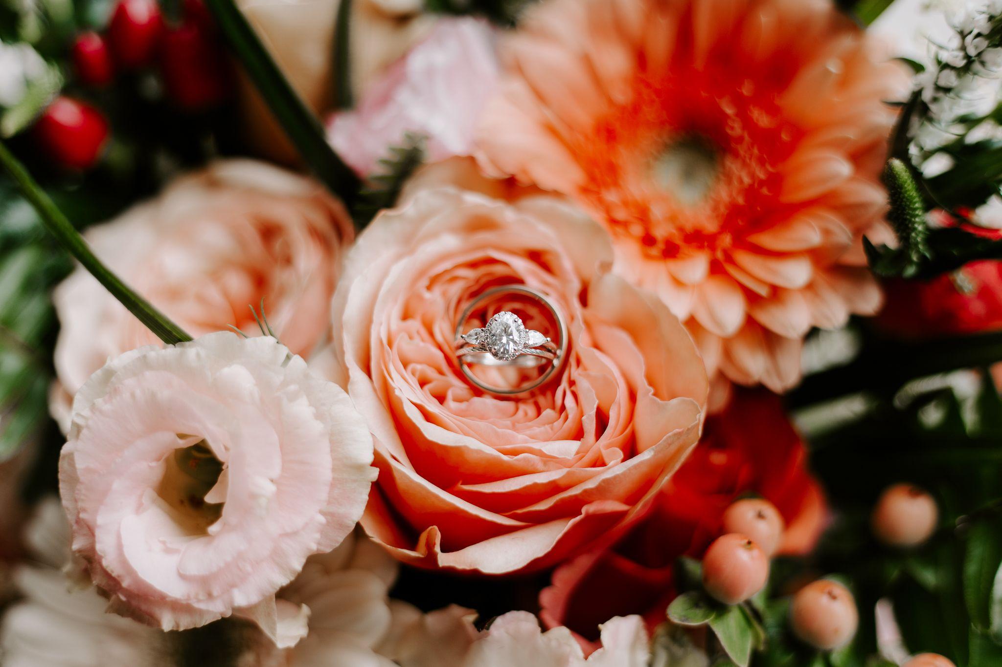 Bedrosian Wedding Bridal Bouquet Peach Tropical Bridal Bouquet Beautiful Wedding Venues