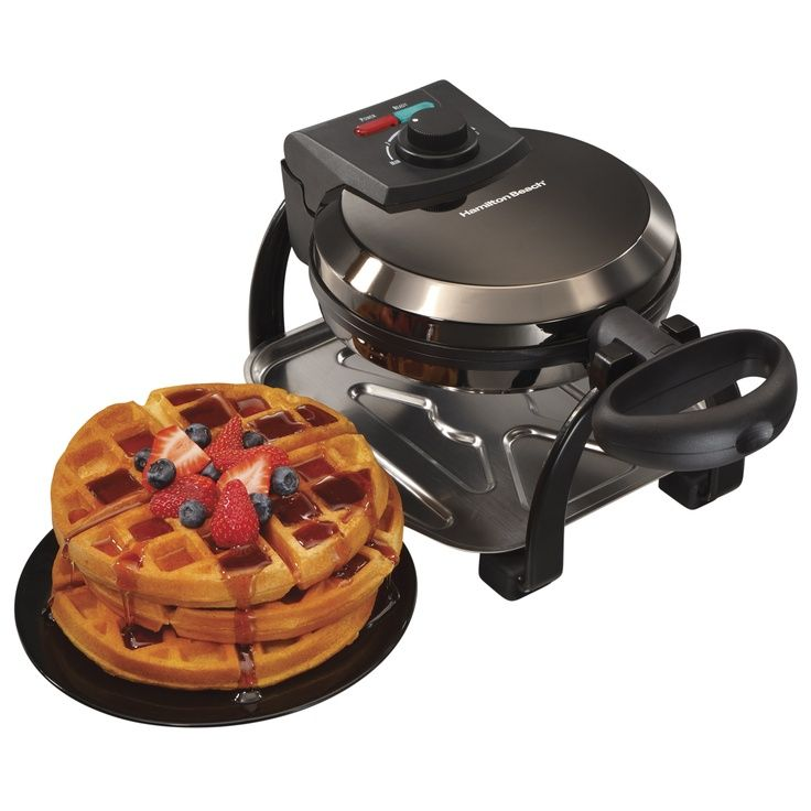 Hamilton beach deep waffle kitchen appliances waffles
