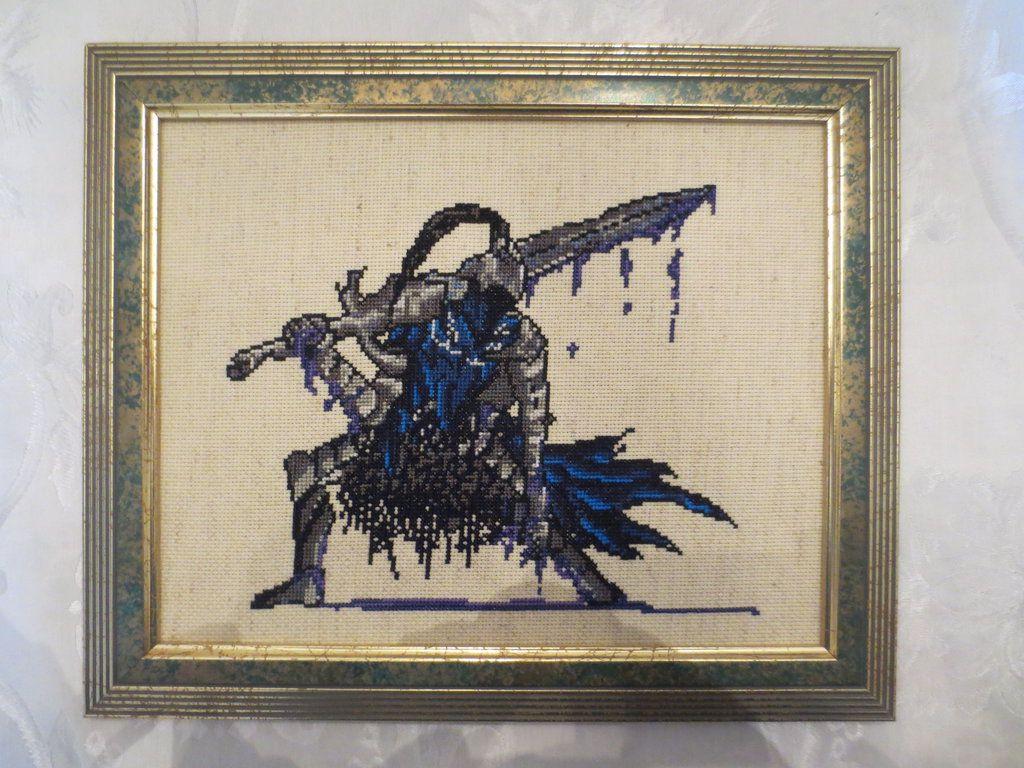 Cross Stitch - Artorias by frozen--phoenix.deviantart.com on ...
