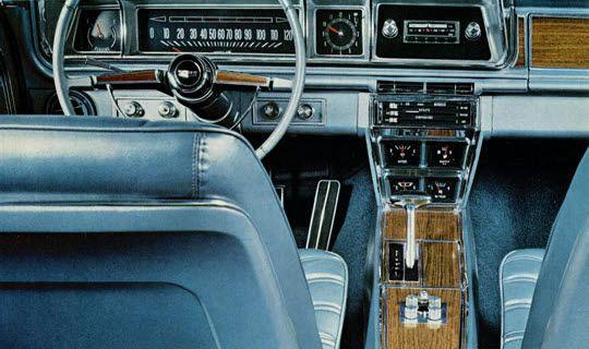 1966 chevrolet caprice custom coupe dash interior - Custom box chevy caprice interior ...