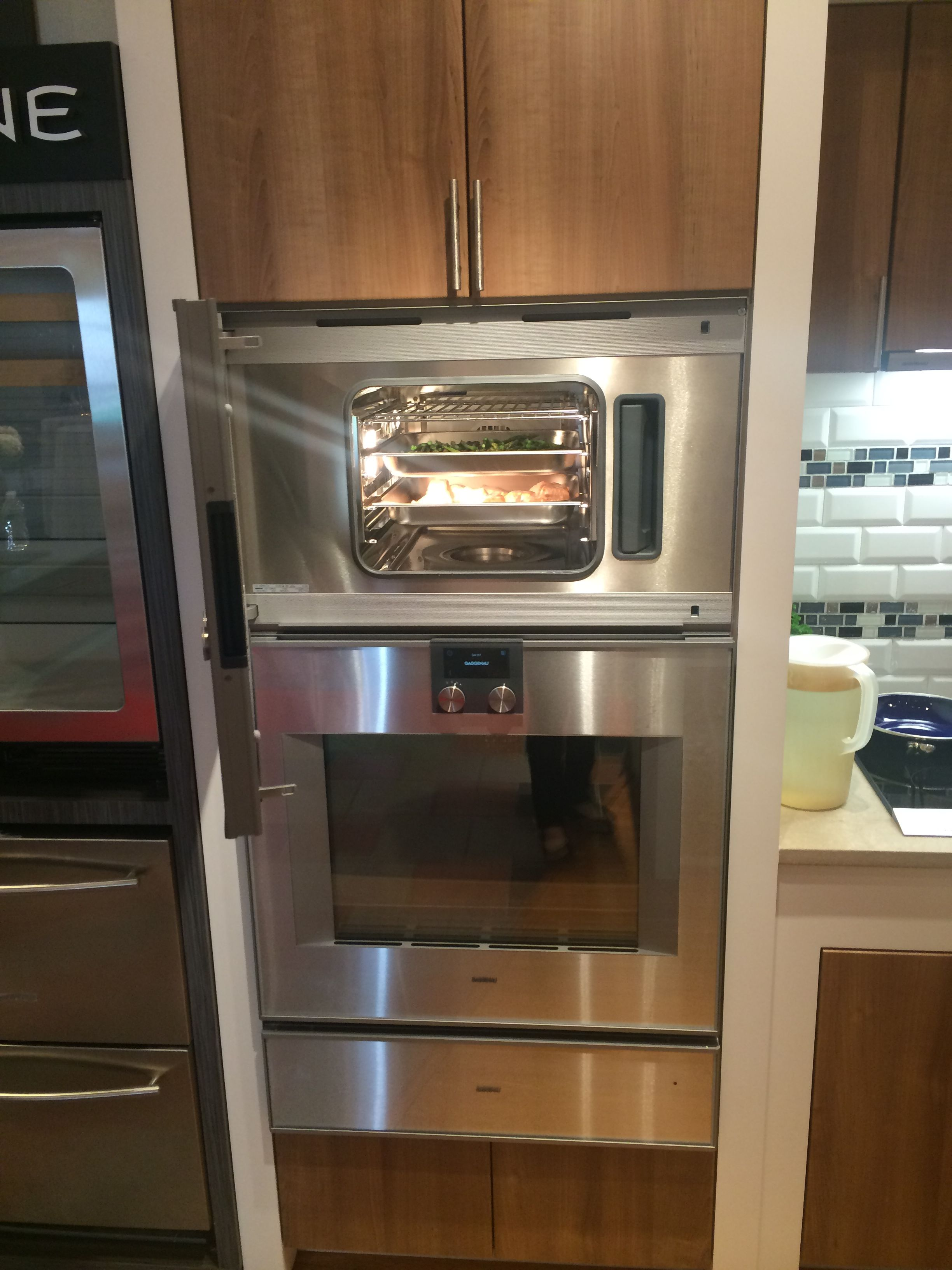 gaggenau appliances are used by professional chefs to prepare food such as filet mignon salmon. Black Bedroom Furniture Sets. Home Design Ideas