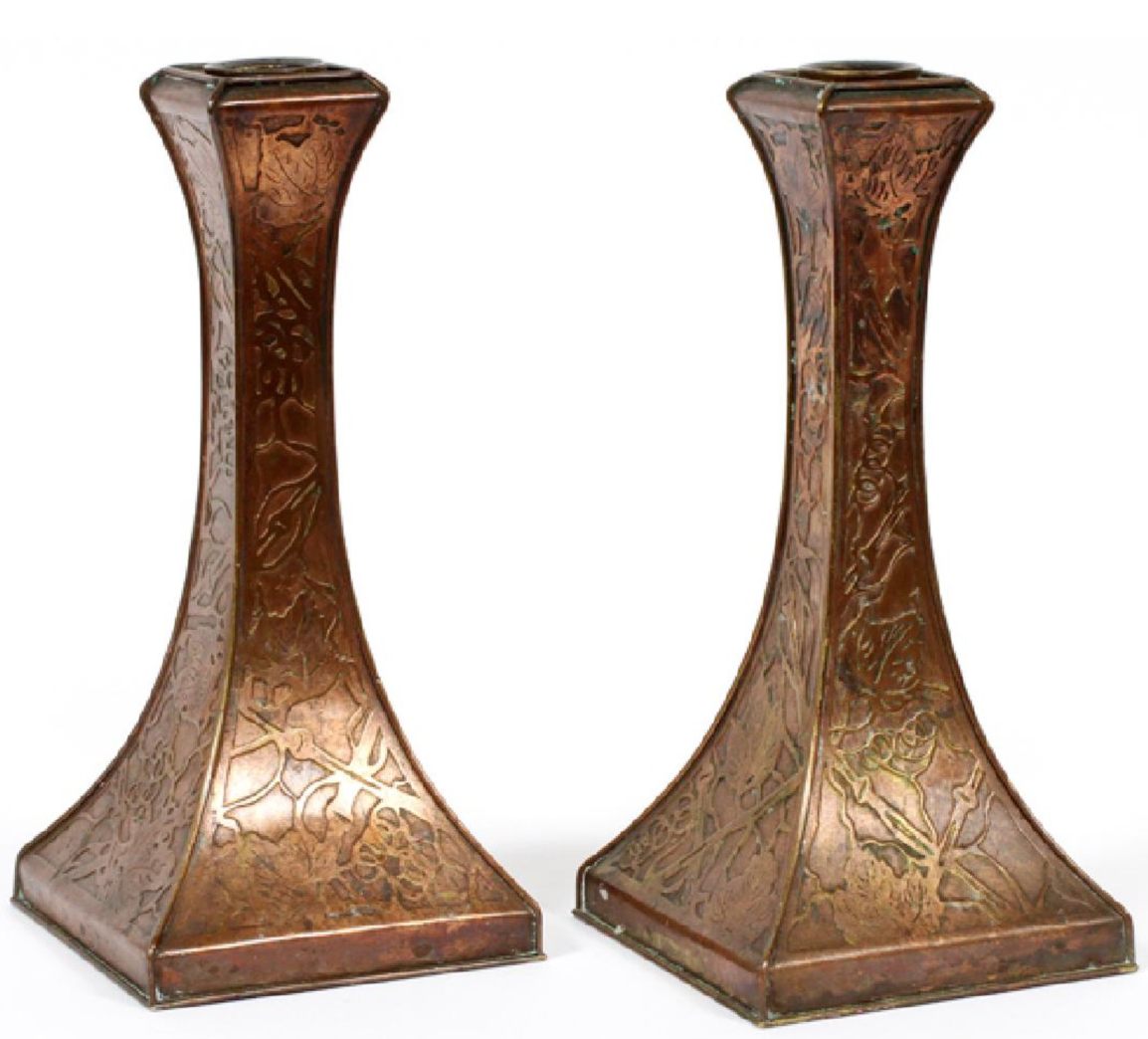 Copper Candlesticks Have With Images Copper Candle