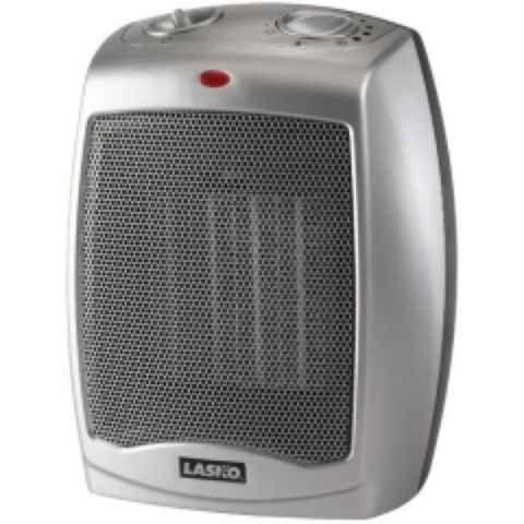 Lasko Ceramic Space Heater With Adjustable Thermostat   Amazon #1 Best  Seller