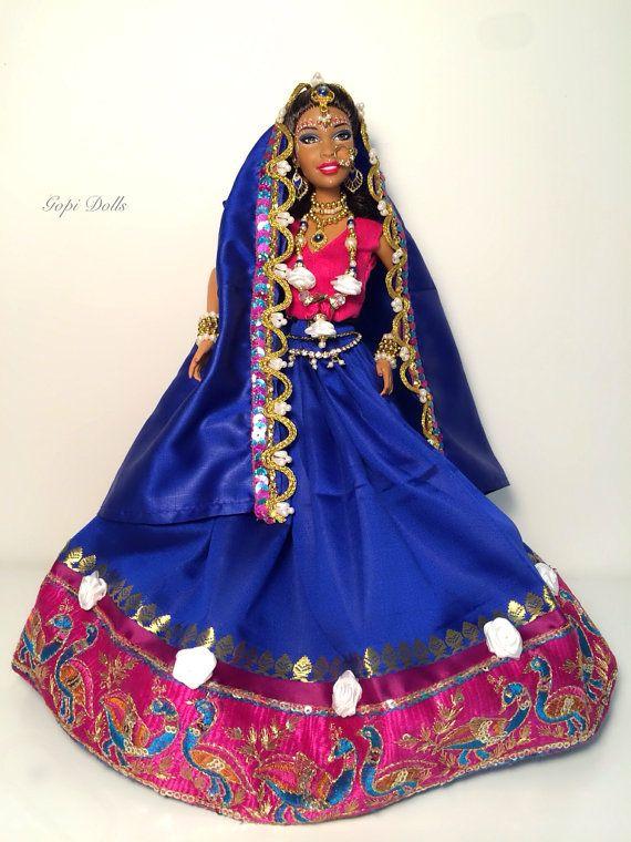 Gopi Doll OOAK Doll Altered barbie doll Kunda by GopiDesigns