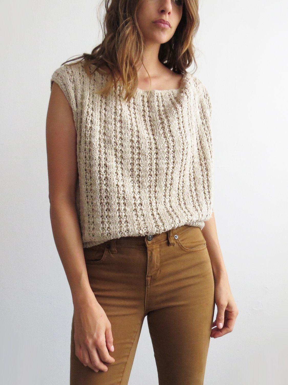 277f0e0204e9c3 Knit Claiborn Top    Vintage 1980 s Top SOLD