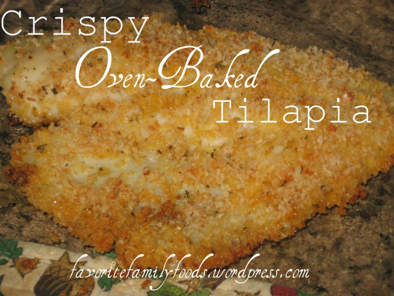 how to cook crispy fish in oven