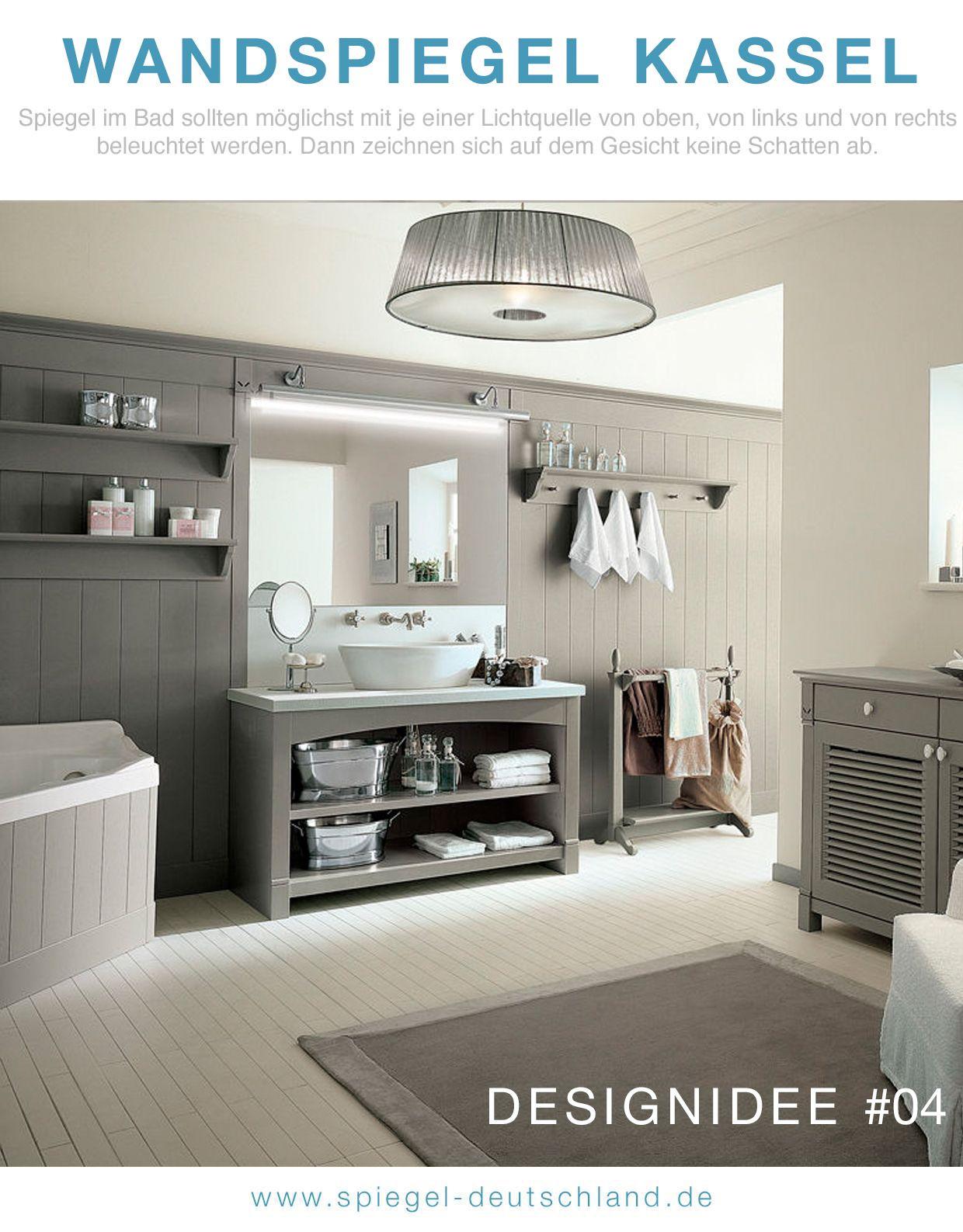 Perfect  DESIGNIDEE Klassischer Badspiegel mit moderner LED Beleuchtung dass ist unser