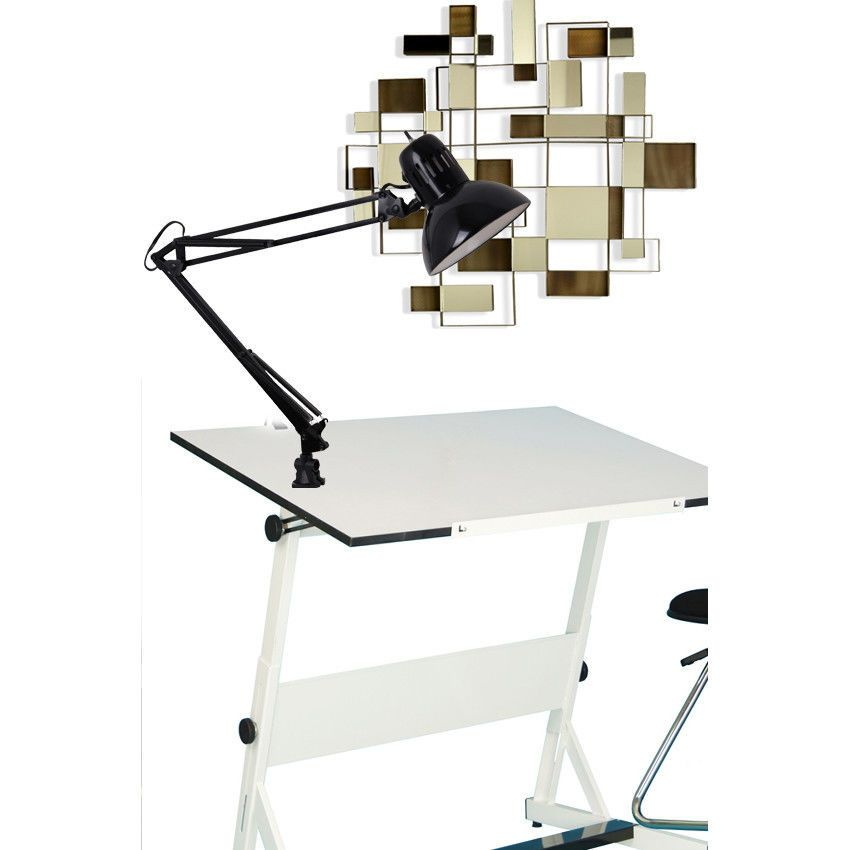 Attrayant Swing Arm Clamp Lamp Table Desk Light Adjustable Work Studio Computer  Office Top