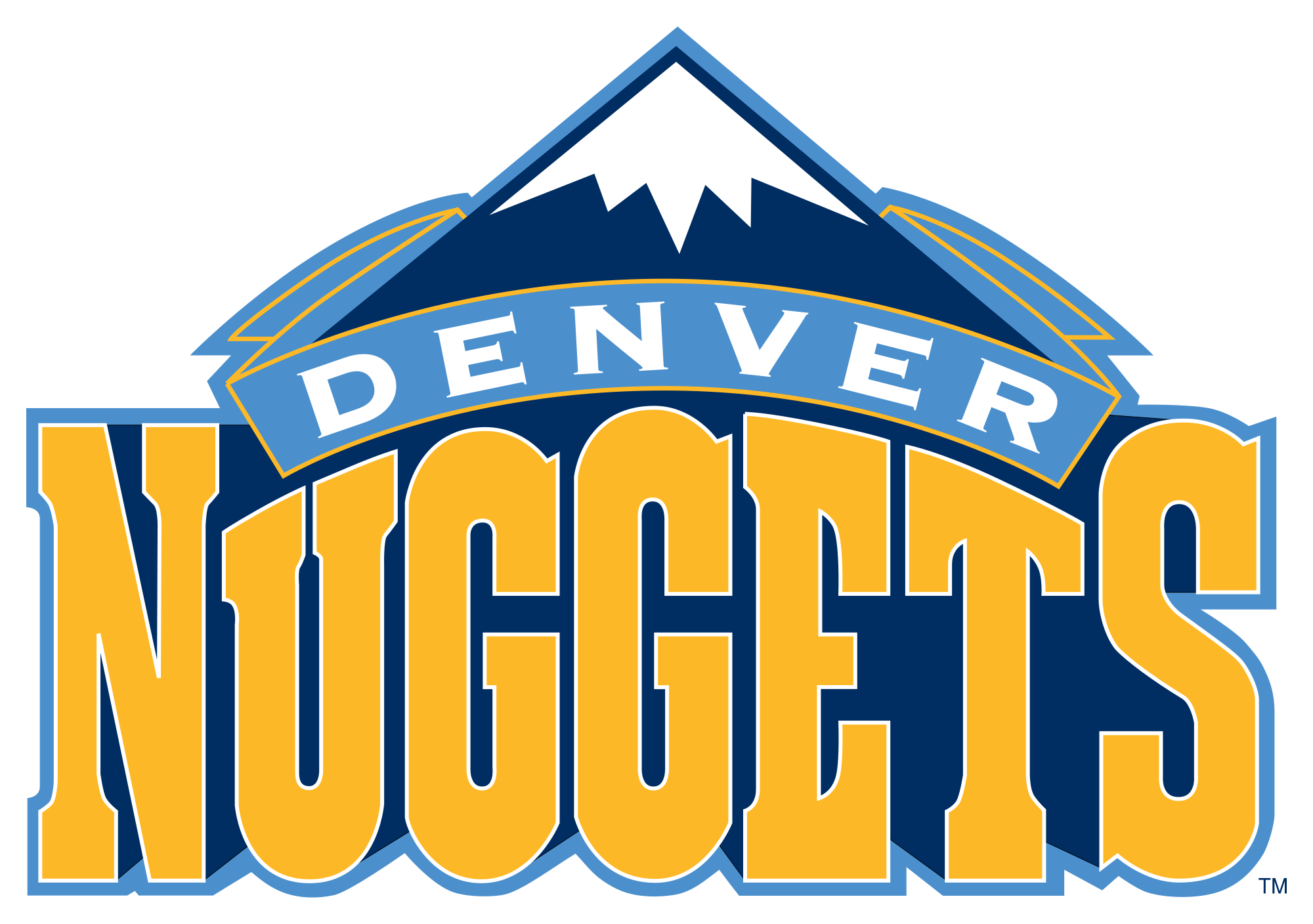 Denver Nuggets Logo Wallpaper - NBA Wallpaper Lovers | NBA Wallpaper ...