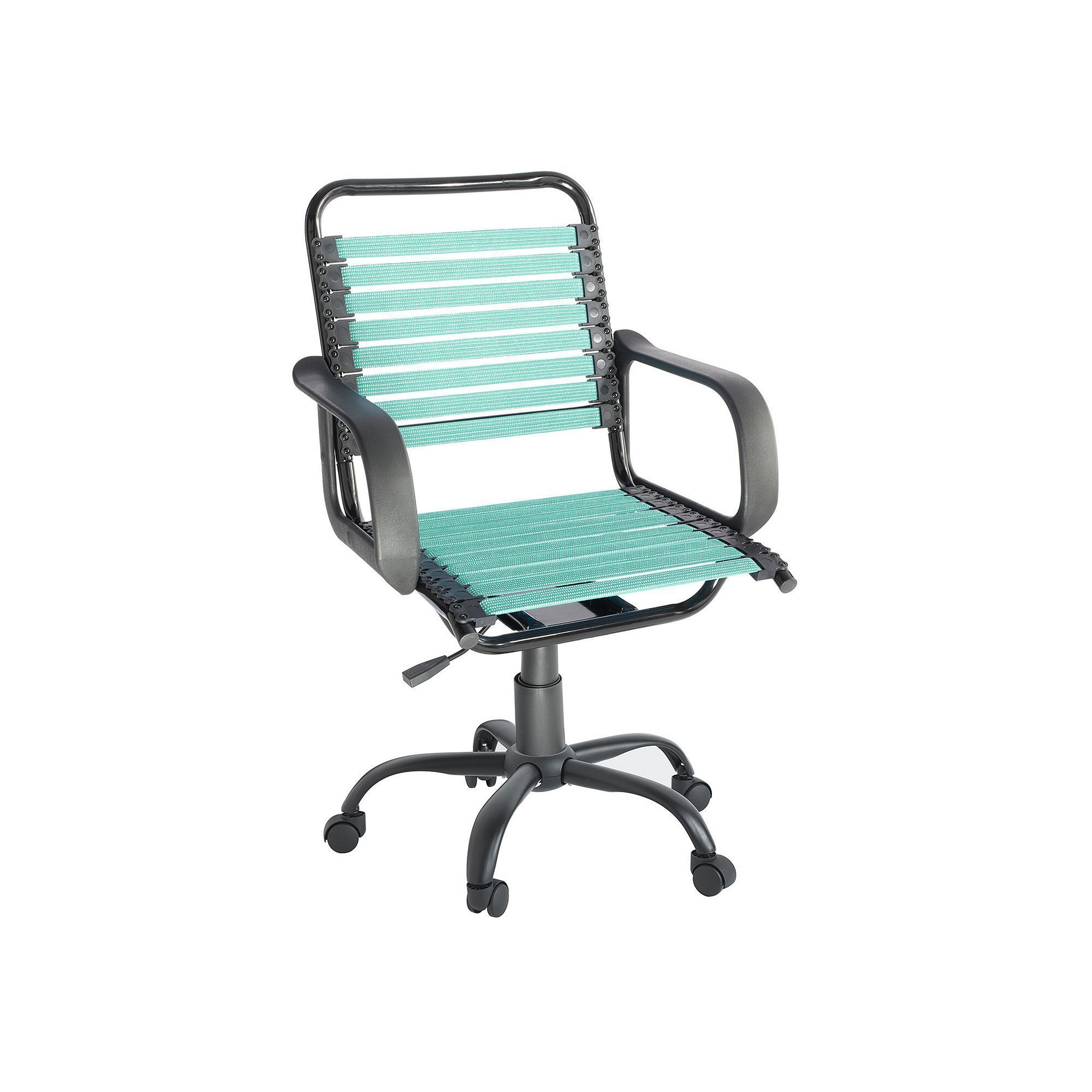 Desk Chair Turquoise Heywood Wakefield Simple By Design Bungee Blue Turq Aqua