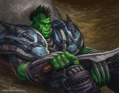 Orc Rogue Ilustraciones Warcraft Mundo De Warcraft Illustration