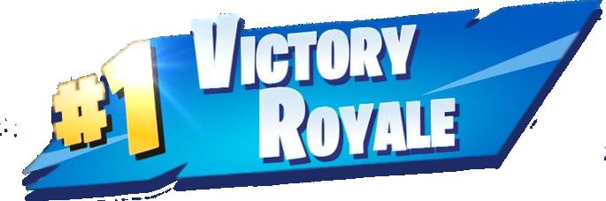 1 Victory Royale Fortnite Png Epic Games Fortnite Banner Online