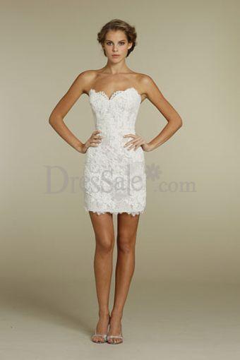 Cute Short Dresses Wedding