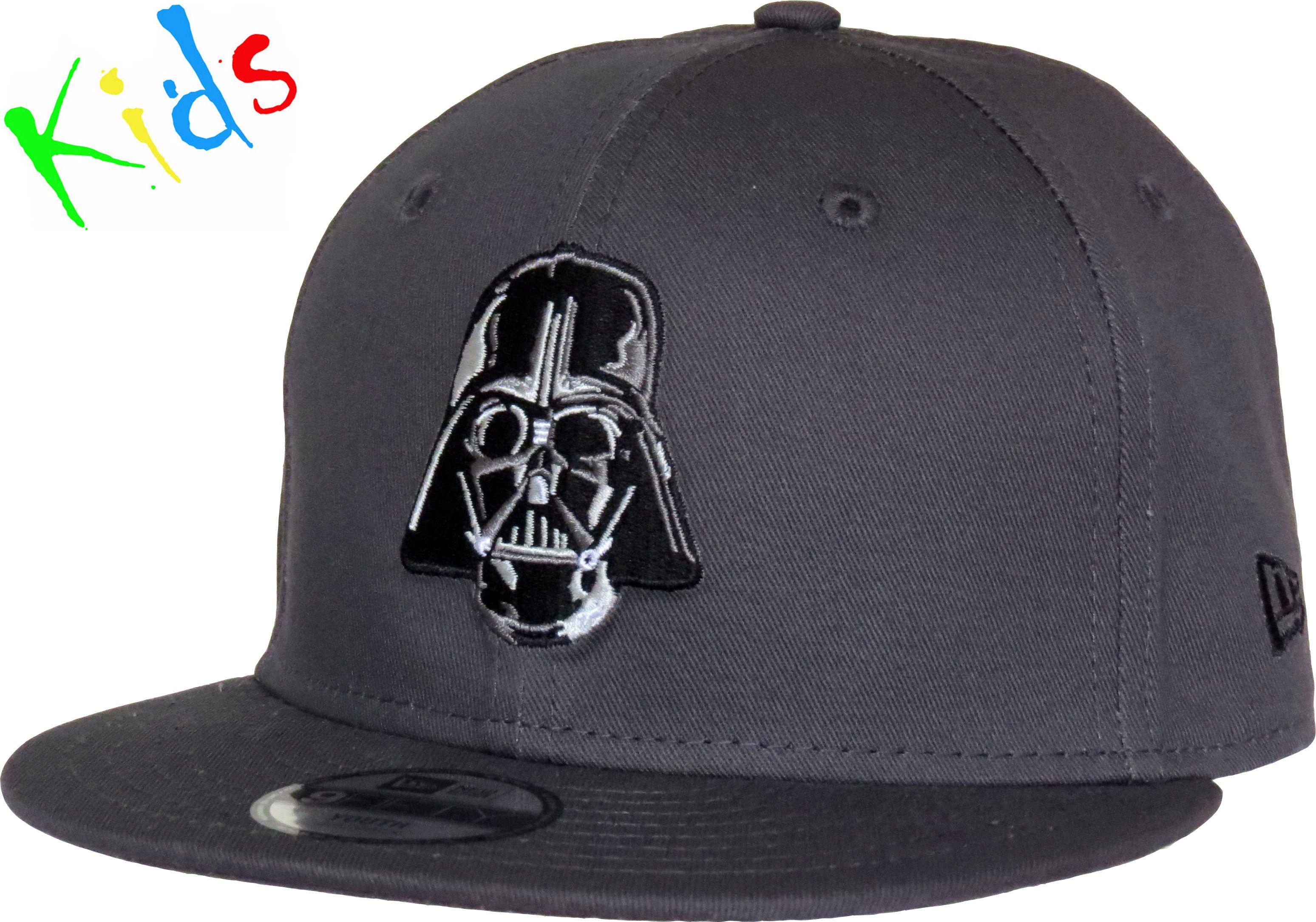 New Era Kids 9Fifty Star wars Essential Snapback Cap. Dark Grey with the Darth  Vader 57abd320cb64