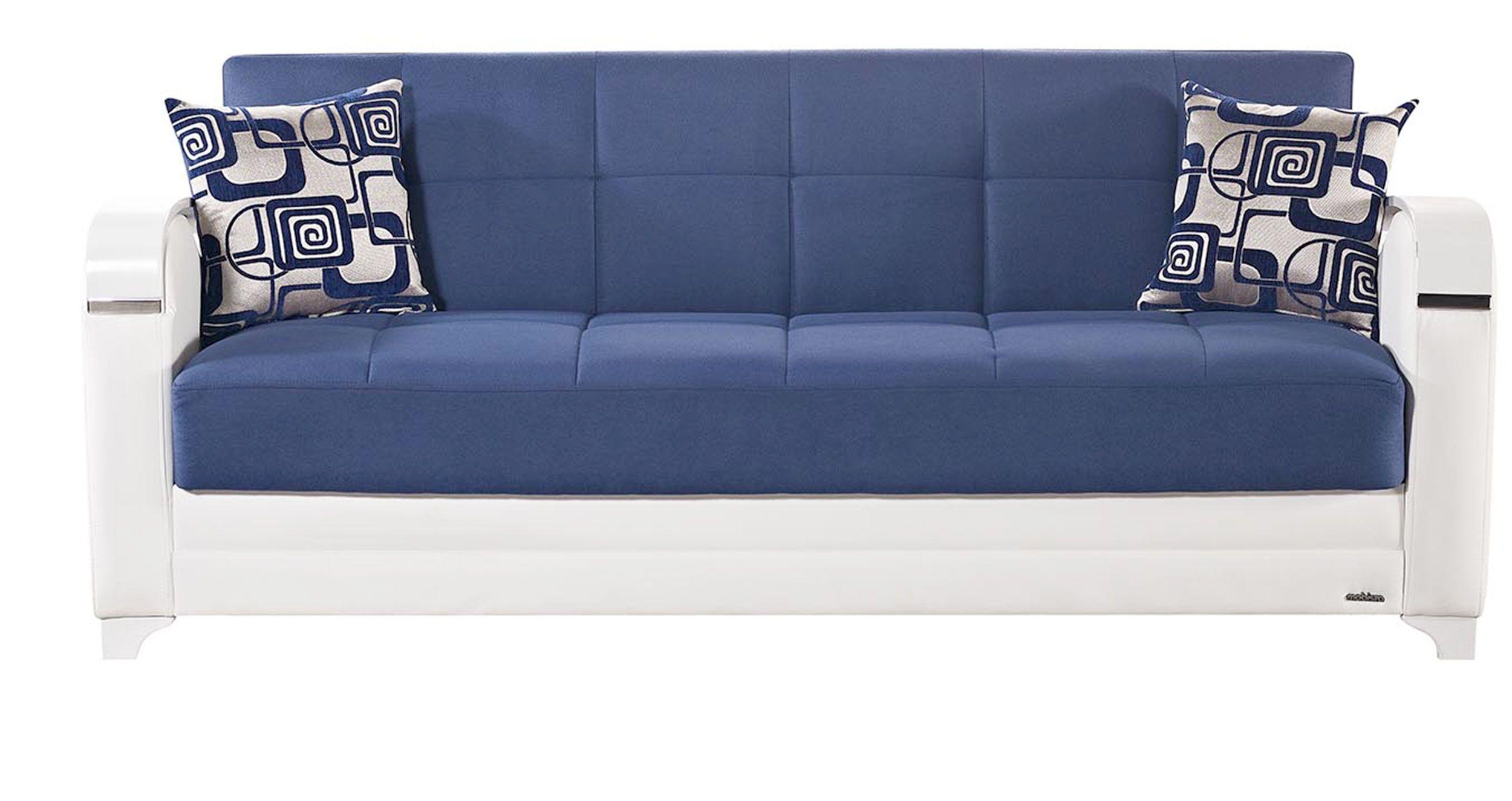 Navy Blue Fabric Sofa Fabric Sofa Bed Blue Fabric Sofa Sofa Bed Vintage