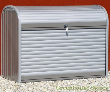 Biohort Heavy Duty Max 120 Storage Box Http Www Greenhouses Co Uk Grey Metal Htm