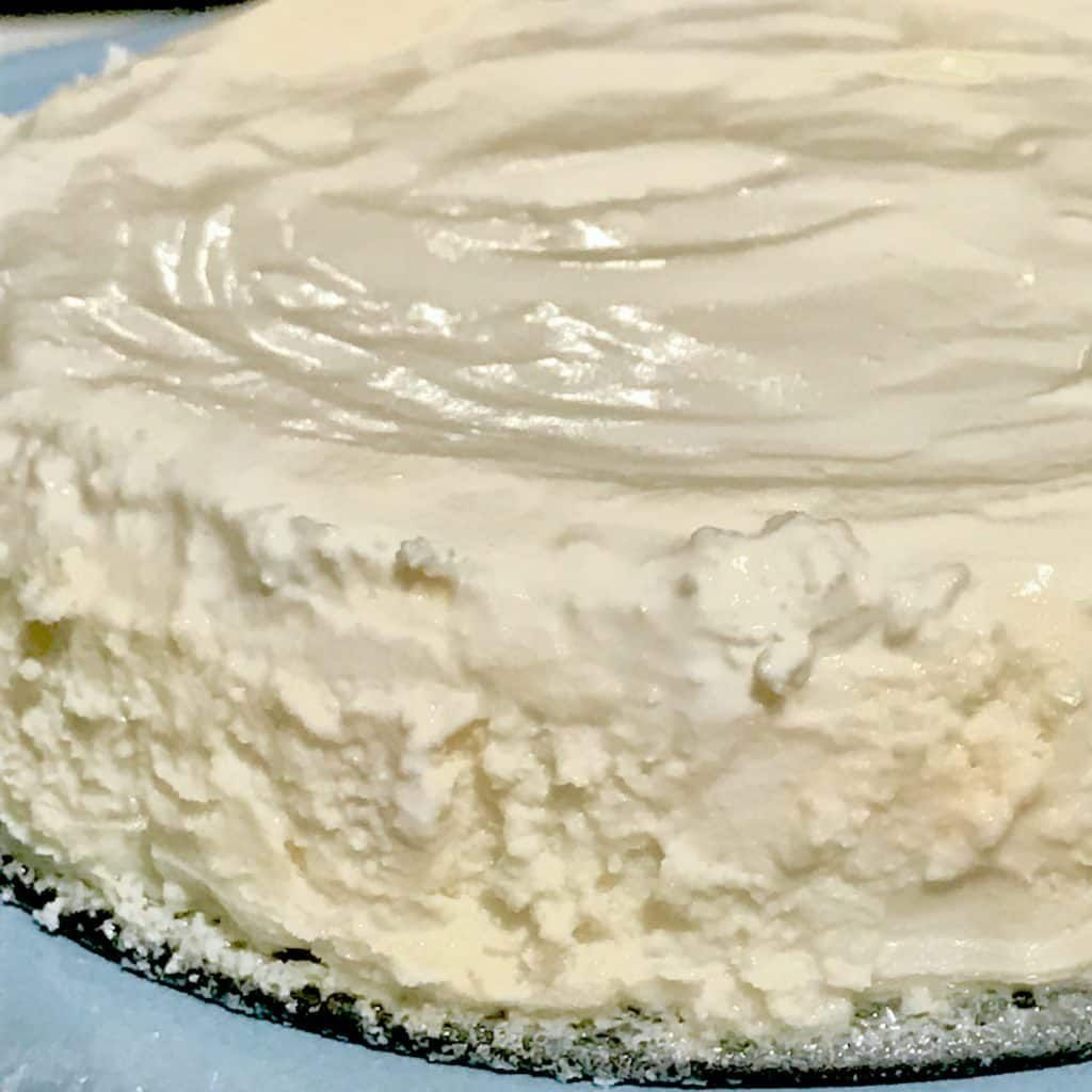 Simple Vanilla Keto Cake: Instant Pot Low Carb Cheesecake