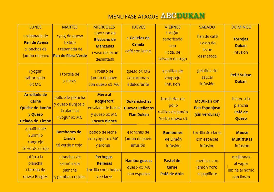 Dieta atkins menu semanal mexico 8
