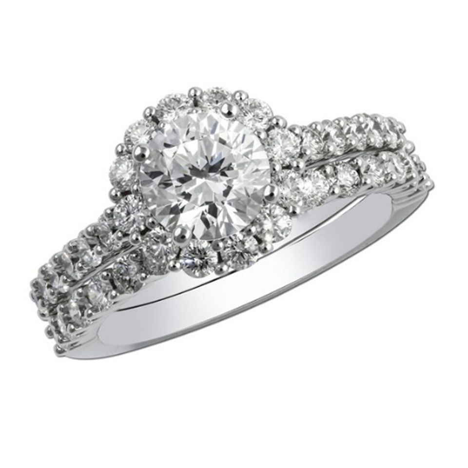Certified 2.45Ct White Oval Cut Diamond Solid 14K White Gold Engagement Ring