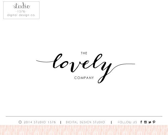 Love the flowness of word lovely branding