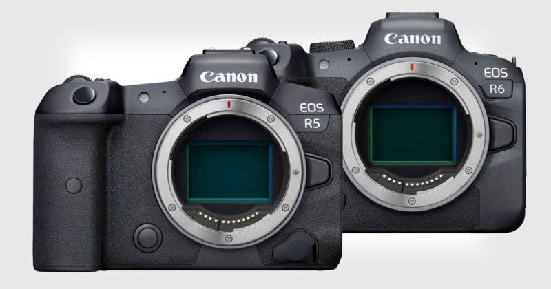 Canon Unveils Eos R5 And Eos R6 Full Frame Mirrorless Cameras In 2020 Mirrorless Camera Full Frame Camera Newest Canon Camera