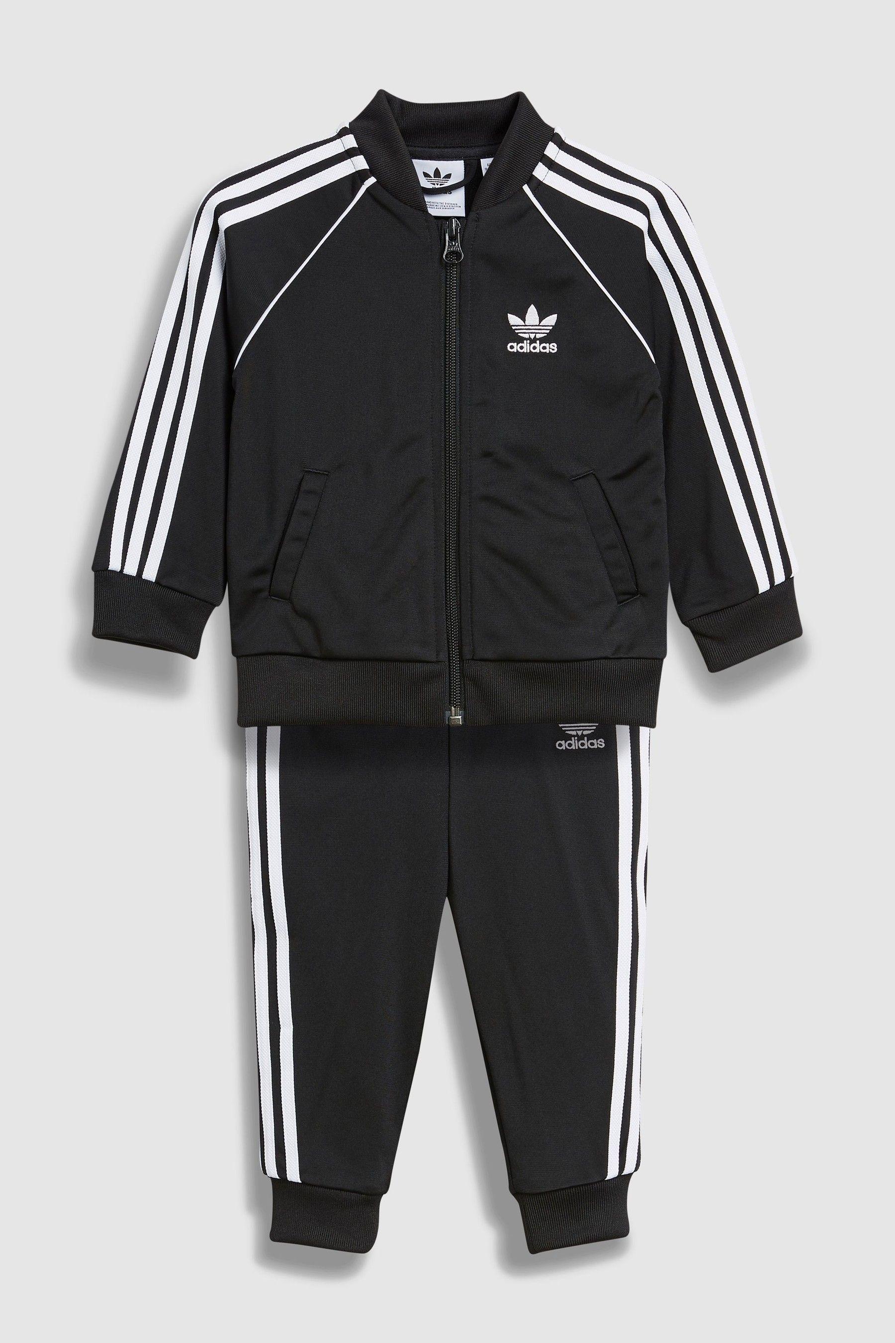 Boys adidas Originals Baby Superstar Tracksuit Black
