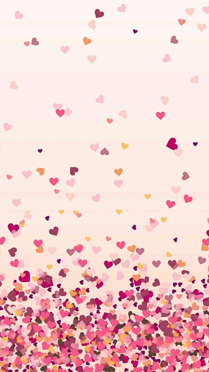 Hearts Papel De Parede De Coracao Wallpaper De Iphone Rosa E