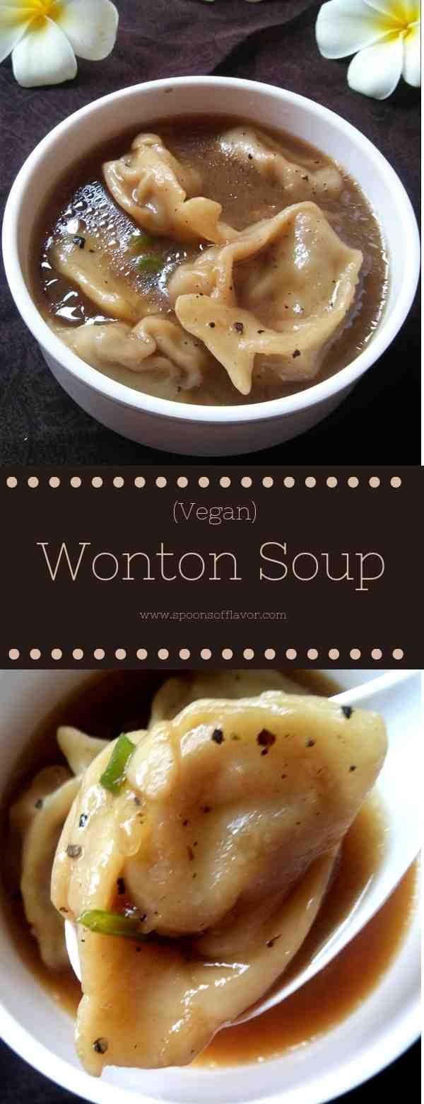 Vegan Wonton Soup #chinesemeals
