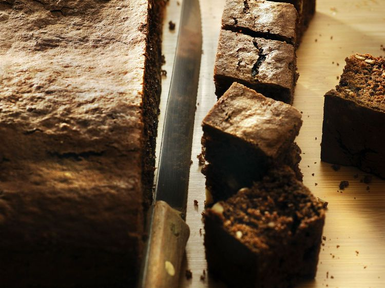 Brownie Au Chocolat Noix De Pecan Et Noisettes Recipe With