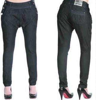 560c7438a calça sawary saruel jeans escuro