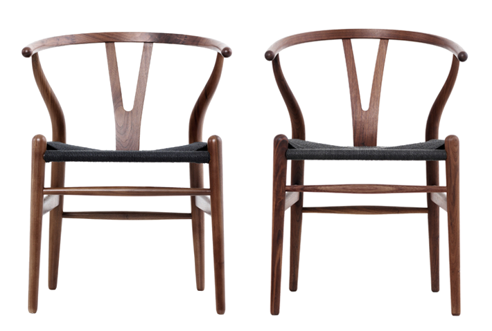 Est Magazine Wishbone chair, Outdoor dining chair